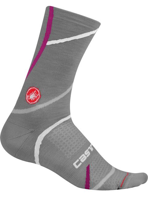 Castelli Sinergia 18 Socks Women melange gray